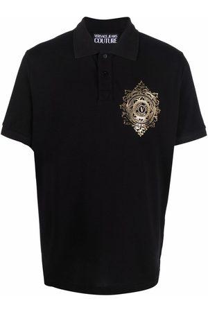 Versace Jeans Couture Hombre Polos - Logo print polo shirt