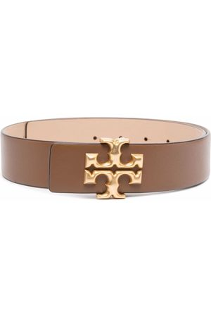 Tory Burch Eleanor buckled leather belt