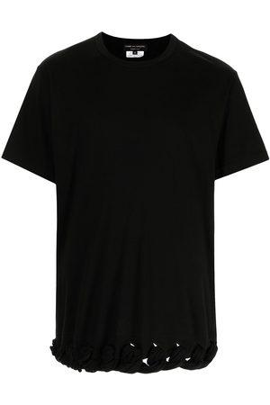 Comme Des Garçons Homme Plus Knot-trim crewneck T-shirt