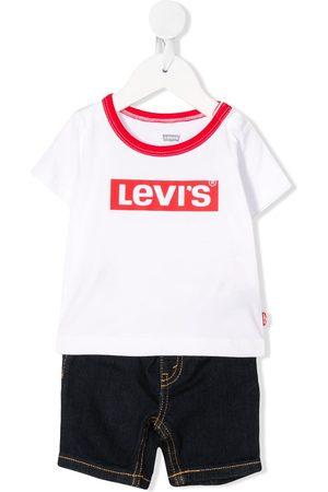 Levi's Kids Set de jeans y playera con logo