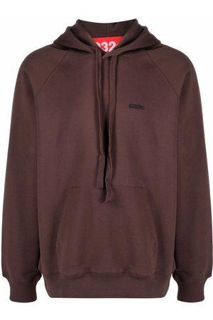 032c Hombre Con capucha - Organic cotton logo-print hoodie