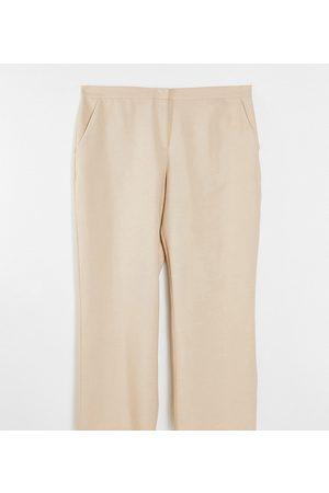 ASOS ASOS DESIGN Curve ultimate straight leg trouser in mink