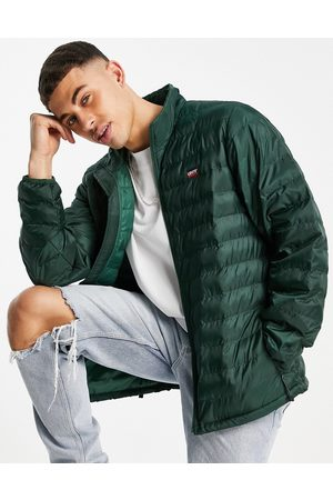 Levis Levi's presidio packable puffer jacket in green