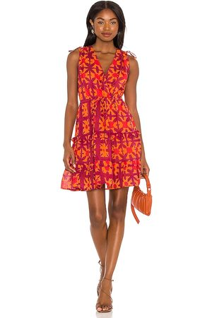 Banjanan Vestido becca en color naranja talla L en - Orange. Talla L (también en S, XS, M).
