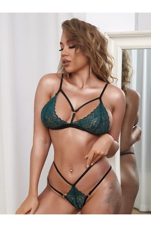 YOINS Lace Backless Design Cut Out Sexy Lingerie