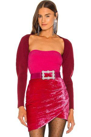 Lovers + Friends Mujer Toreras - Torera michelle en color burgundy talla L en - Burgundy. Talla L (también en S, XS, M).