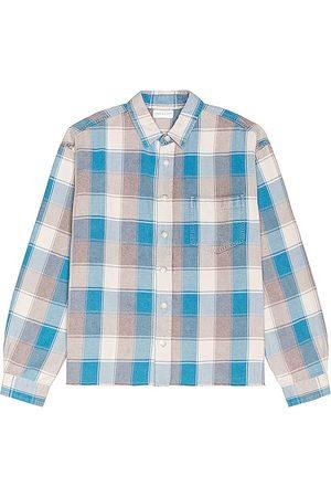 JOHN ELLIOTT Hombre Camisas - Camisa hemi en color azul talla L en - Blue. Talla L (también en M, XL/1X).
