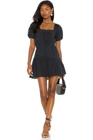 LOVESHACKFANCY Vestido stern en color talla L en - Black. Talla L (también en S, XS, M).