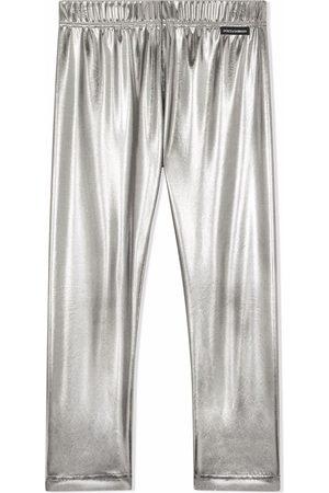Dolce & Gabbana Kids Niña Leggings y treggings - Leggins con pretina elástica
