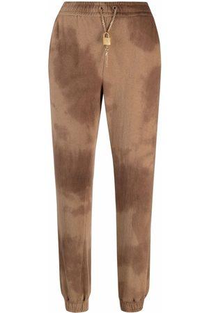 Pinko Mujer Pantalones y Leggings - Pants con estampado tie-dye