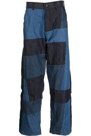 Comme Des Garçons Shirt Pantalones anchos con diseño patchwork
