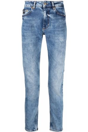 Versace Jeans Couture Hombre Skinny - Mid-rise slim-fit jeans