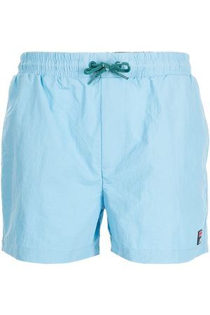 Fila Hombre Shorts - Shorts de playa con parche del logo