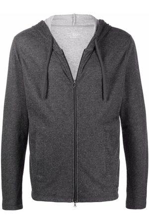 Majestic Filatures Two-pocket zip-up hoodie