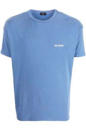 We11done Camiseta oversize con logo