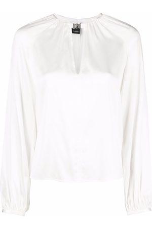 Pinko Mujer Blusas - Famatina keyhole-detail blouse
