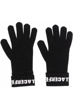 Karl Lagerfeld Mujer Guantes - Guantes tejidos con logo