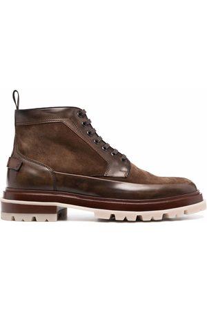 Santoni Hombre Botines - Leather ankle-boots