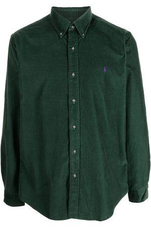 Polo Ralph Lauren Hombre Camisas - Embroidered-logo cotton shirt