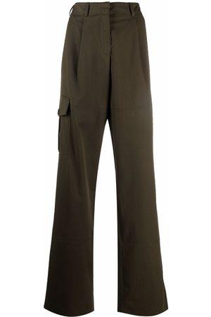 Nina Ricci Mujer Cargo - Pantalones cargo anchos