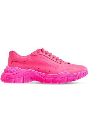 DOLCE & GABBANA Niña Tenis - Sneakers De Piel Con Cordones