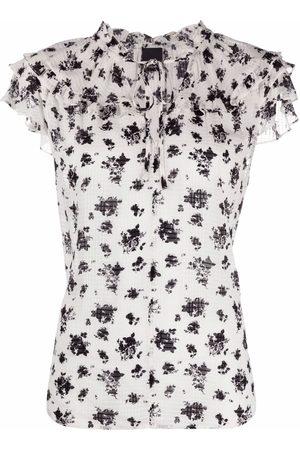 Pinko Mujer Blusas - Blusa con estampado floral