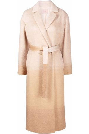 Twin-Set Mujer Gabardinas - Double-breasted gradient coat