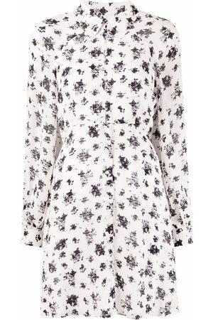 Pinko Mujer Camiseros - Vestido camisero con estampado floral