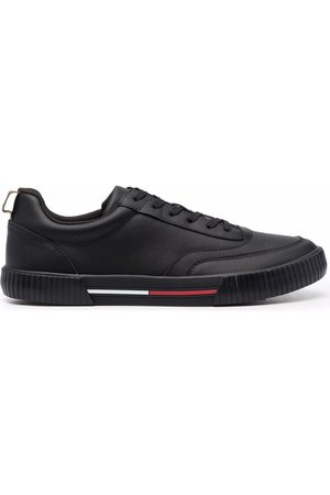 Tommy Hilfiger Core panelled low-top leather sneakers