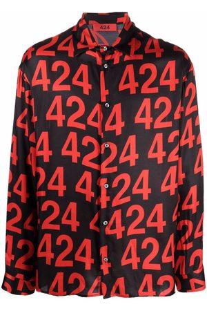 424 FAIRFAX Hombre Camisas - Camisa con logo estampado