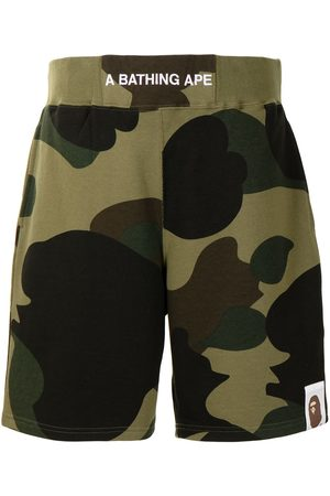 A Bathing Ape Elasticated waist cargo shorts