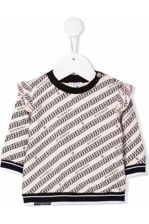 Givenchy Kids Niña Con capucha - Sudadera con cadenas estampadas