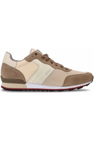 BOSS Suede running-style sneakers