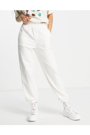 Urban Revivo Jogger trousers in white