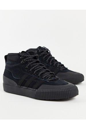 adidas Akando ATR hi top trainers in black