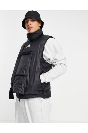 Adidas COLD RDY down vest in black