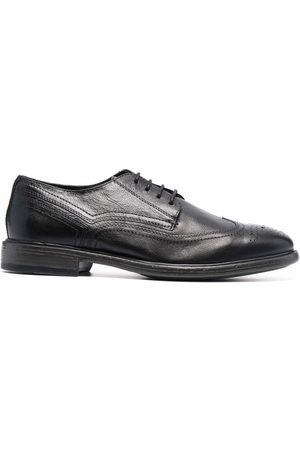 Geox Hombre Oxford - Almond-toe leather oxford shoes