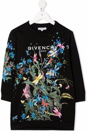 Givenchy Vestido estilo sudadera con motivo Jungle