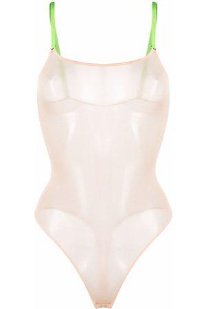 MAISON CLOSE Mujer Bodies - Mesh bodysuit