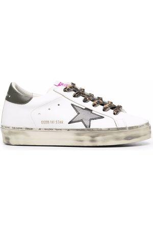 Golden Goose Hi Star low-top flatform sneakers