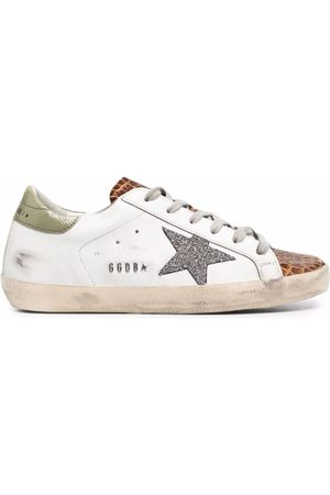 Golden Goose Mujer Tenis - Super-Star low-top lace-up sneakers