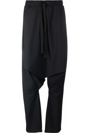 Alchemy Hombre Con pinzas - Drop-crotch drawstring trousers