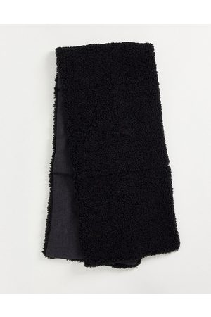 Urban Code Reversible padded scarf in black