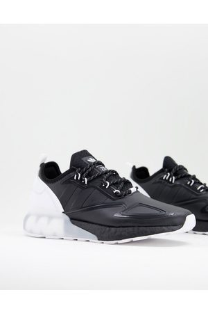 adidas ZX 2K Boost trainers in black and white