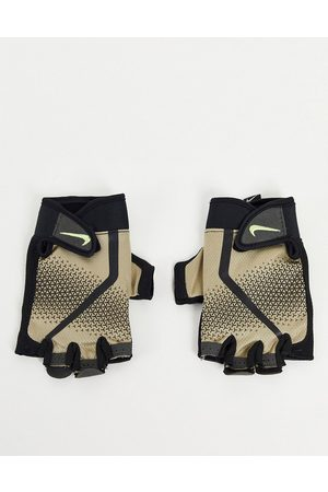 Nike Extreme mens fitness gloves in stone