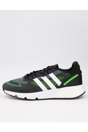 adidas ZX1K Boost trainers in black