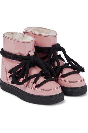 INUIKII Kids Rain Sneaker patent leather boots