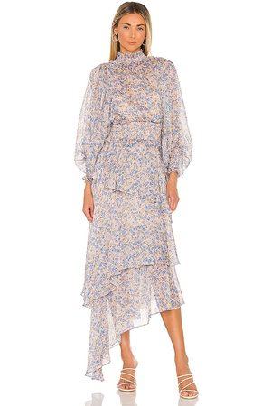 ELLIATT Vestido astrid en color lavanda talla L en - Lavender. Talla L (también en M, S, XS).