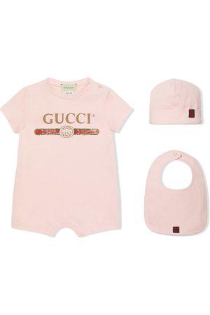 Gucci Bebé Mamelucos - Pack de regalo para bebés con logo Gucci