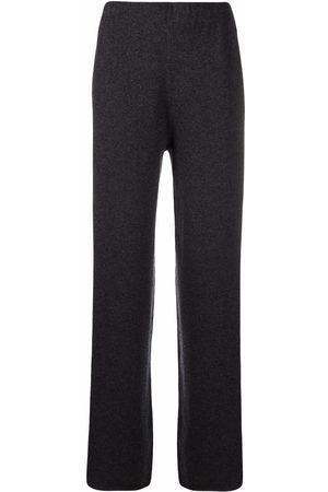 Fabiana Filippi Mujer Leggings y treggings - Wide leg cashmere trousers